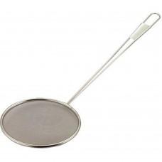 "Skimmer Circular Stainless Steel 20cm(~8"")"