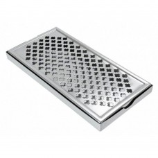 "Drips Tray Large Stainless Steel 12"" x 6"""