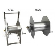 HOSE DRUM SS ON CASTERS