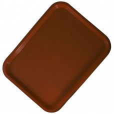 "Tray Fast Food Brown 12""x16"""