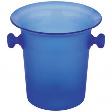 Wine Bucket Acrylic  Blue