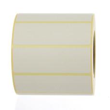 Blank Label White 3X1