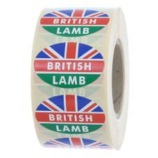 British Lamb Label Oval