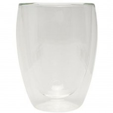 Coffee Glass Double Wall Large