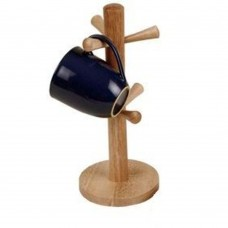 Mug Holder Wooden 6 Mug Capacity