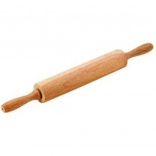 Rolling Pin Wooden With Handle 44.5cm x 5 x 5cm