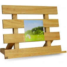 Cook Book Stand 'Retro' Wooden 29cm x 24 cm