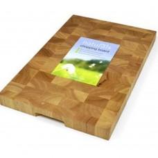 Board Wooden Rectangular End Grain 45cm x 30cm