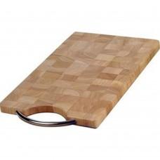 Board Wooden Rectangular End Grain 41cm x 24cm x 2cm