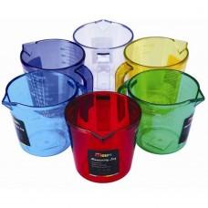 Measuring Jug Mixed Colours 1Ltr