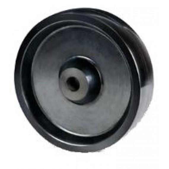 HIGH TEMP WHEEL SH 125X20 BLACK