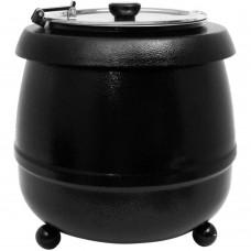 Soup Kettle Black 10L