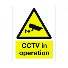 CCTV in Operation Sign 400x300mm