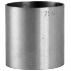 Spirit Measure Stainless Steel 25ml