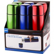 Bullet Flask 0.5Ltr Pack Of 6 Ass Colours