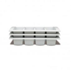 Cutlery Tray White 530x325x100mm GN 1/1