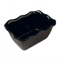 Black SAN Dish 170x131x90mm 700ml