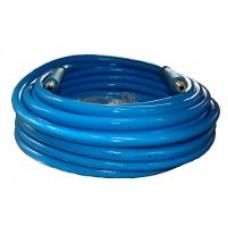 CRIMPED BLUE HOSE D12/25M