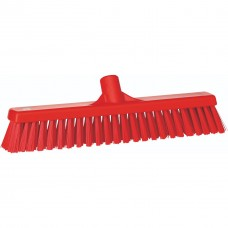 Broom Soft/Hard 410mm Red