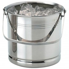 "Ice Bucket Stainless Steel H 5¼"" x D 5¼"""