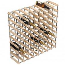 Wine Rack Kit 72 Btl 8'x8' Natural Pine