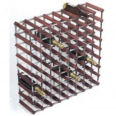 Wine Rack Kit 72 Btl 8'x8' Dark Pine