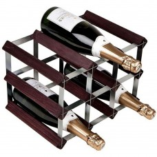 Assembled Wine Rack 9Btl 3'x2' Dark Pine