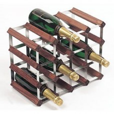 Assembled Wine Rack 16Btl 4'x3' Dark Pine
