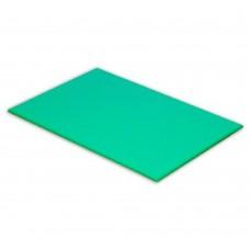 Cutting Board High-Density Polyethylene Green 450mm x 300mm x 25mm