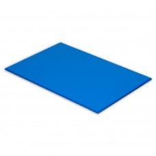 Cutting Board High Density Polyethylene Blue 600mm x 450mm x 25mm