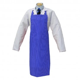 Apron Royal Blue &White Twin Stripe 90cm x 120cm