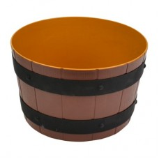 Barrel Bowl ABS Dia 245mm x 150mm 5.4Ltr