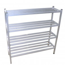 ALUMINIUM POT RACK 5FT x 450mm x 1525mm
