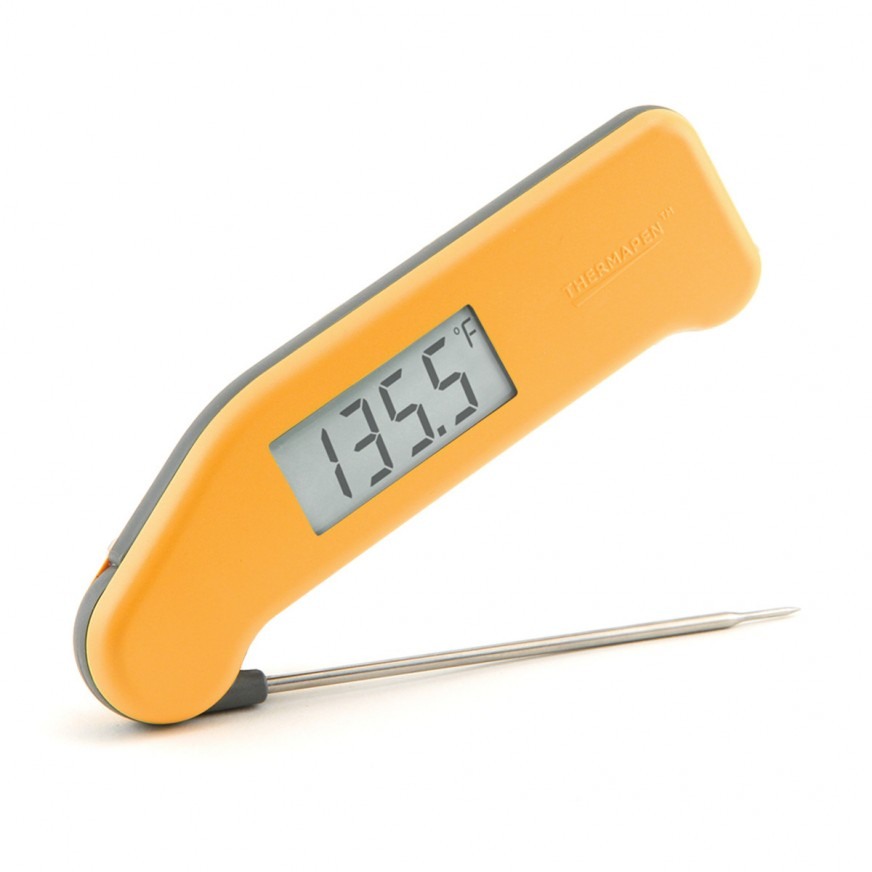 SUPERFAST THERMAPEN THERMOMETER - YELLOW