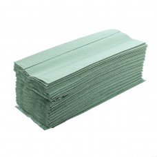 C FOLD TOWELS - (GREEN)