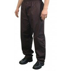 Unisex Trousers Black Baggy Large 38-40